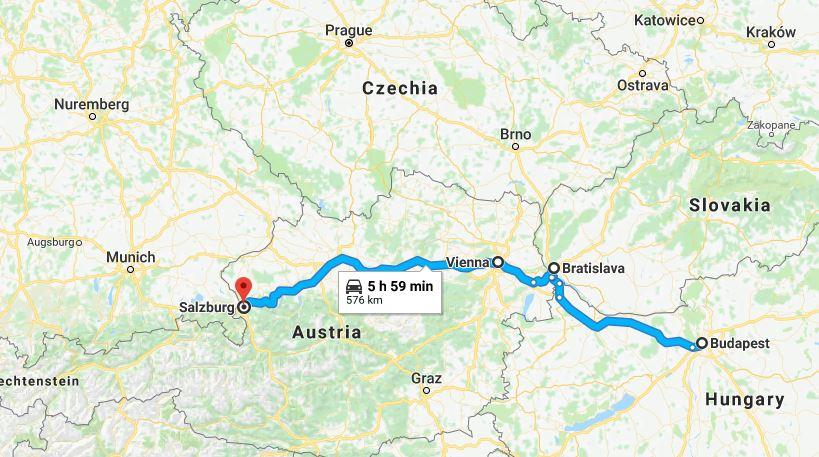 Budapest, Bratislava, Vienna, Salzburg –why?