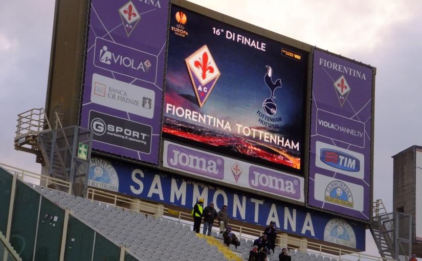Firenze: Day 2 –Matchday!