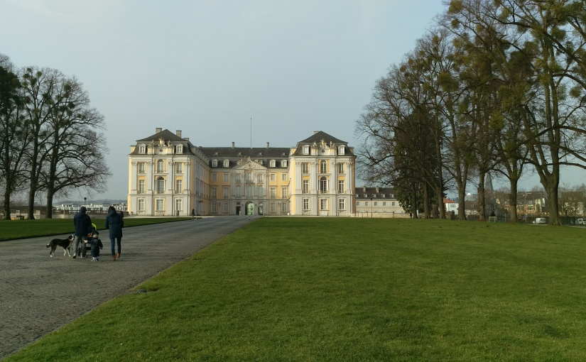 Brühl and Bonn! March 2016