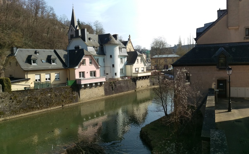 Luxembourg City – March2016