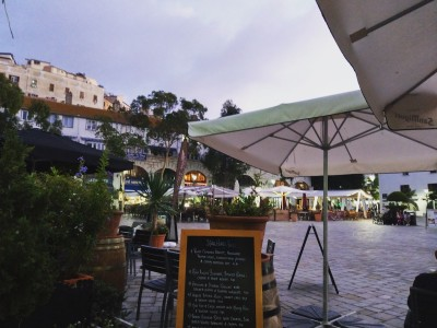 Gibraltar Casemates Square Evening