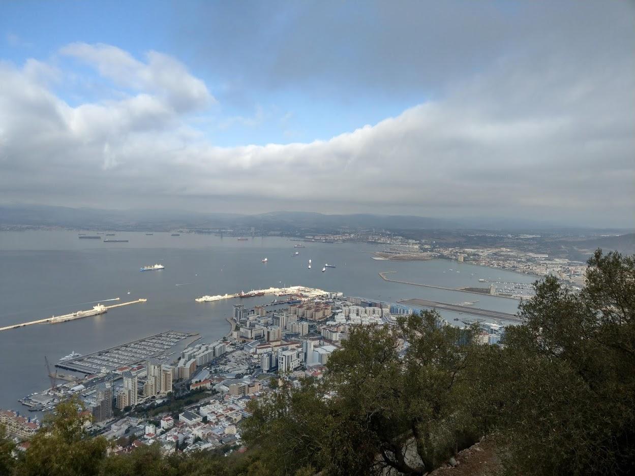 Gibraltar Rock View