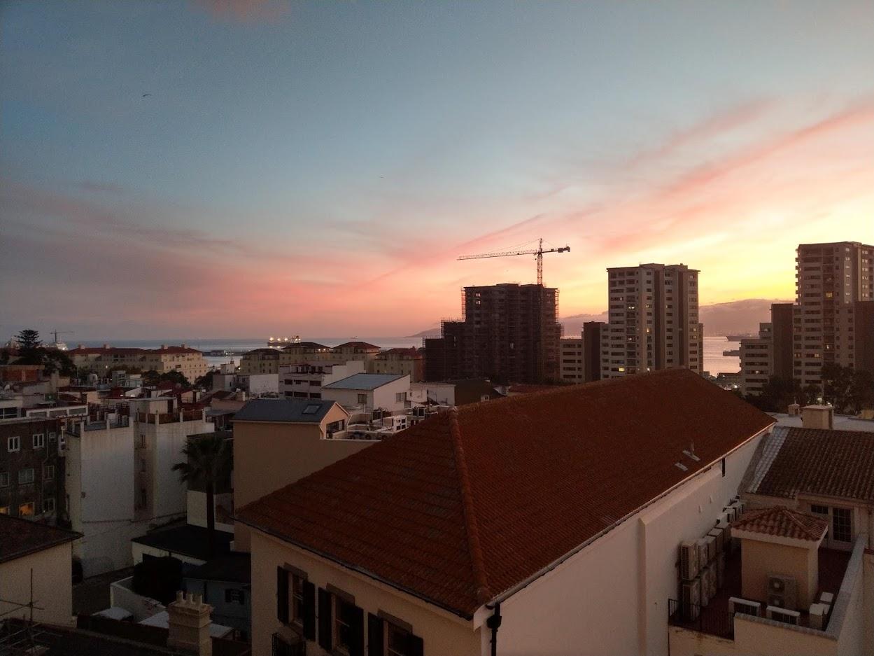 Gibraltar Sunset