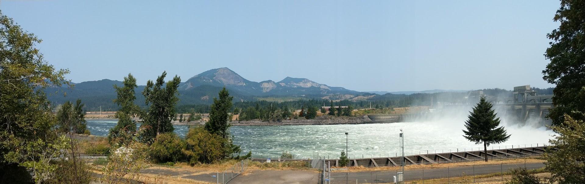 Bonnevilla Dam Panorama