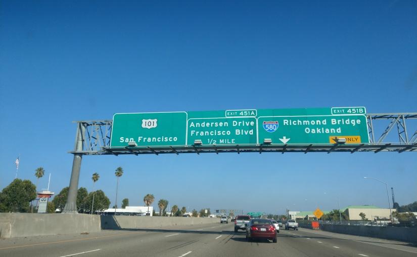 The big 3-0: Day twenty – San Franciscobound!
